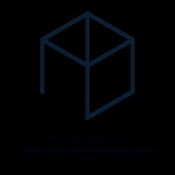 六角形=立方体から作られるアルファベットで文字を組んだものを一つにまとめた形2013年